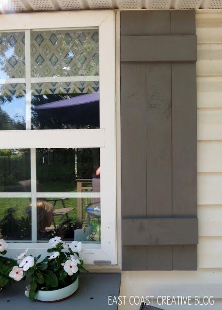 diy shutters and window box diy shutters pinterest window boxes shutters and box