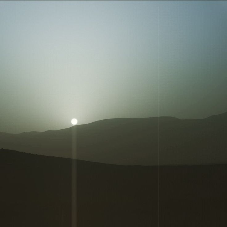 This new NASA view of sunset on Mars is stellar