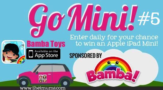 The iMums' Go Mini! Win an iPad Mini + Case- Mini Madness #5