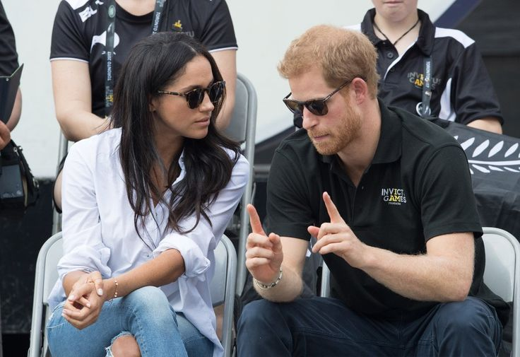 Prince Harry and Meghan Markle Arrive Hand in Hand at the Invictus Games, and It's Royally Adorable