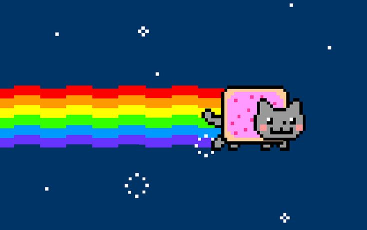 The height of Youtube fame.  NYAN!!!!