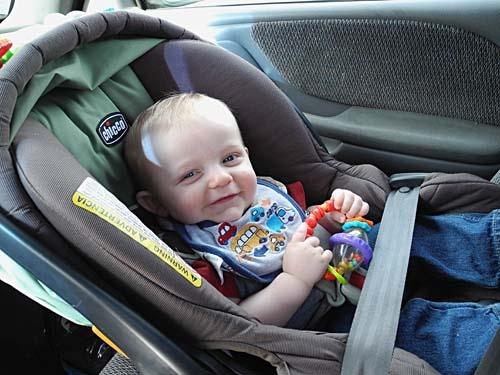 """Jaydon Upgrades To A Big Boy Car Seat"" Jaydon Turns 1"