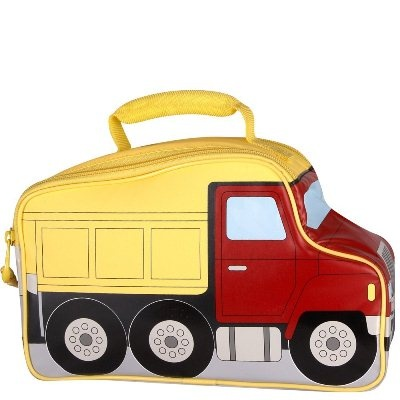 Dump truck toddler lunch box