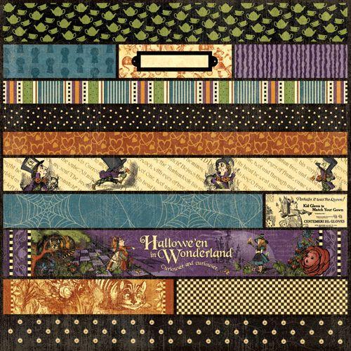 graphic 45 - hallowe en in wonderland collection