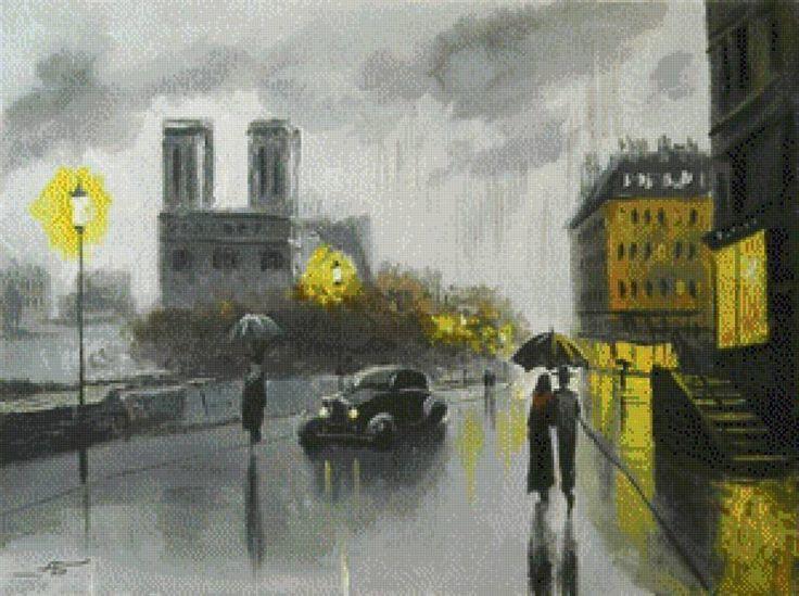 Старый Париж., предпросмотр