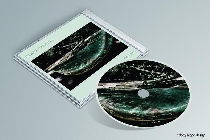 Album cover design for Michael Casswell