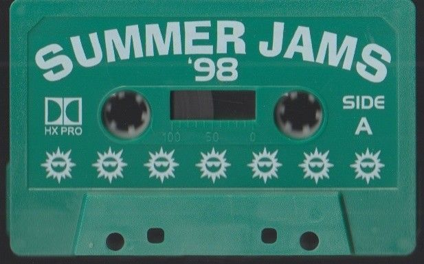Summer Jams 1998 Compilation Bootleg Hip Hop  / R&B / Soul Album Various Artist