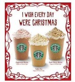 Starbucks 12 Days of Gifting 2012