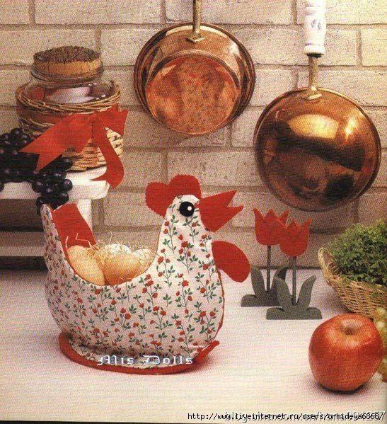 """Materiales gráficos Gaby: Cesta """"Gallina porta huevos""""incluye molde de costu..."""