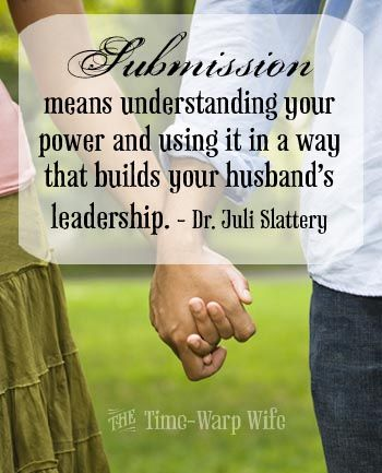 Building your husband up, when it is biblical and sincere is not for selfish motives or manipulation.  It is edifying to the relationship and leads to transformation. When two become one, they should complement, not undermine each other.
