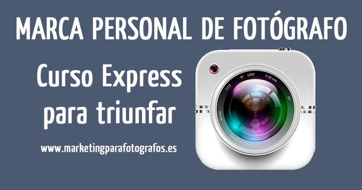 Aprende a crear tu marca personal de fotógrafo, distínguete de tu competencia y aumenta la atracción de tus clientes para vender con más facilidad  http://marketingparafotografos.es/marca-personal-de-fotografo/