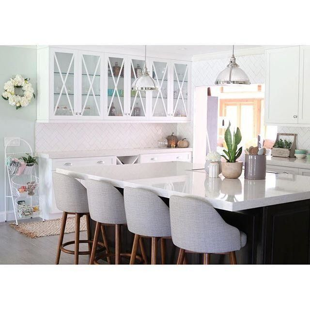Inspired by mid-century design our Saddle Bar + Counter Stoolu0027s modern form and clean aesthetic bring a casual elegance to kitchen islands.  sc 1 st  Pinterest & Best 25+ Saddle bar stools ideas on Pinterest | West elm bar ... islam-shia.org