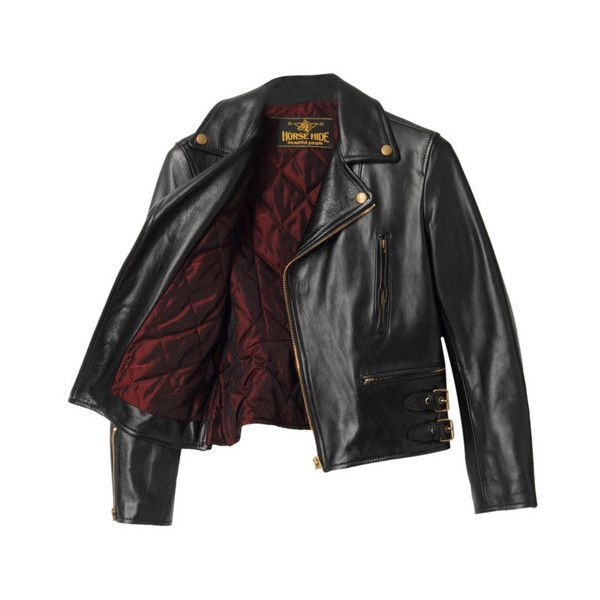BEAUTIFUL PEOPLE Horse Hide Riders Jacket (3 170 PLN) ❤ liked on Polyvore featuring outerwear, jackets, tops, coats, mountain horse jacket, leather jacket, horse jacket и beautiful people