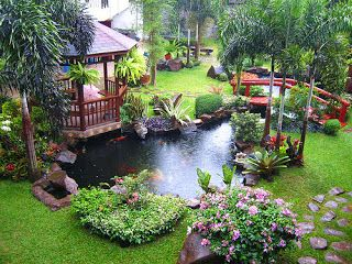 Jasa Cleaning Service: Fungsi & Manfaat Taman Depan Rumah