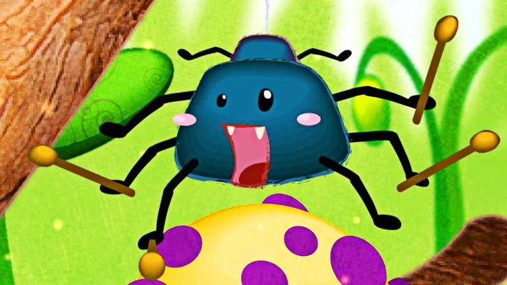 Itsy Bitsy Spider Nursery Rhyme - Classic Nursery Rhymes Learning for Kids