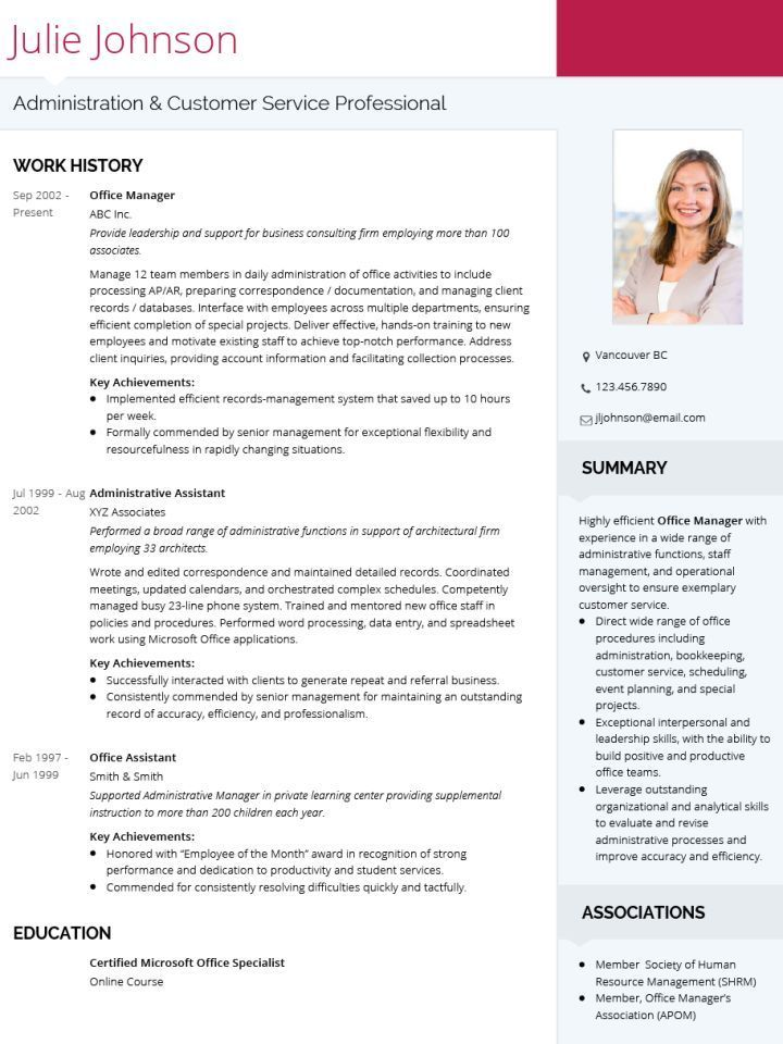 Cv Template Professional Resume Examples Cv Template Professional Resume Template Professional Cv Template Doc