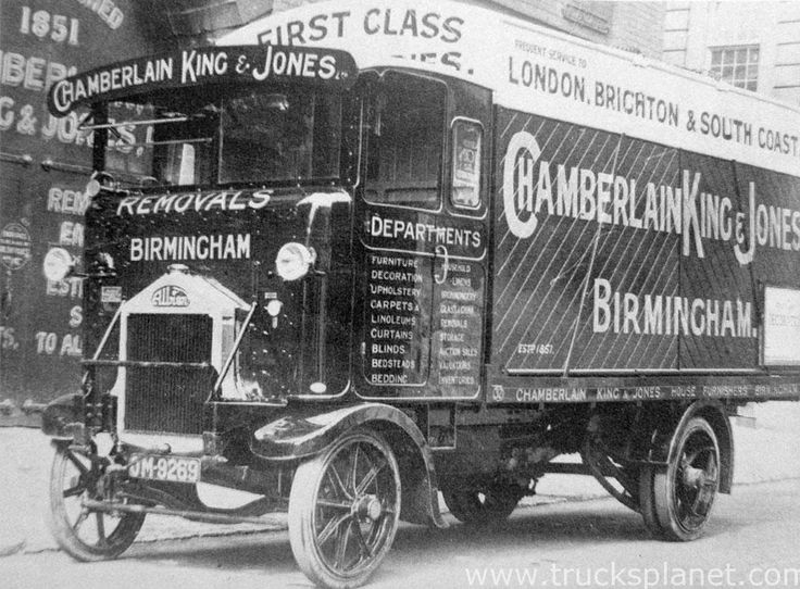1925 Albion - A10 MkII. first cab over type from albion.