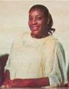 Frances Steadman (1915-2009):  Member of the Mary Johnson Davis Gospel Singers, The Clara Ward Specials, The Clara Ward Singers and The Stars of Faith