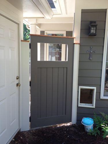 Solid Wood Exterior Door For Garden Gate By David