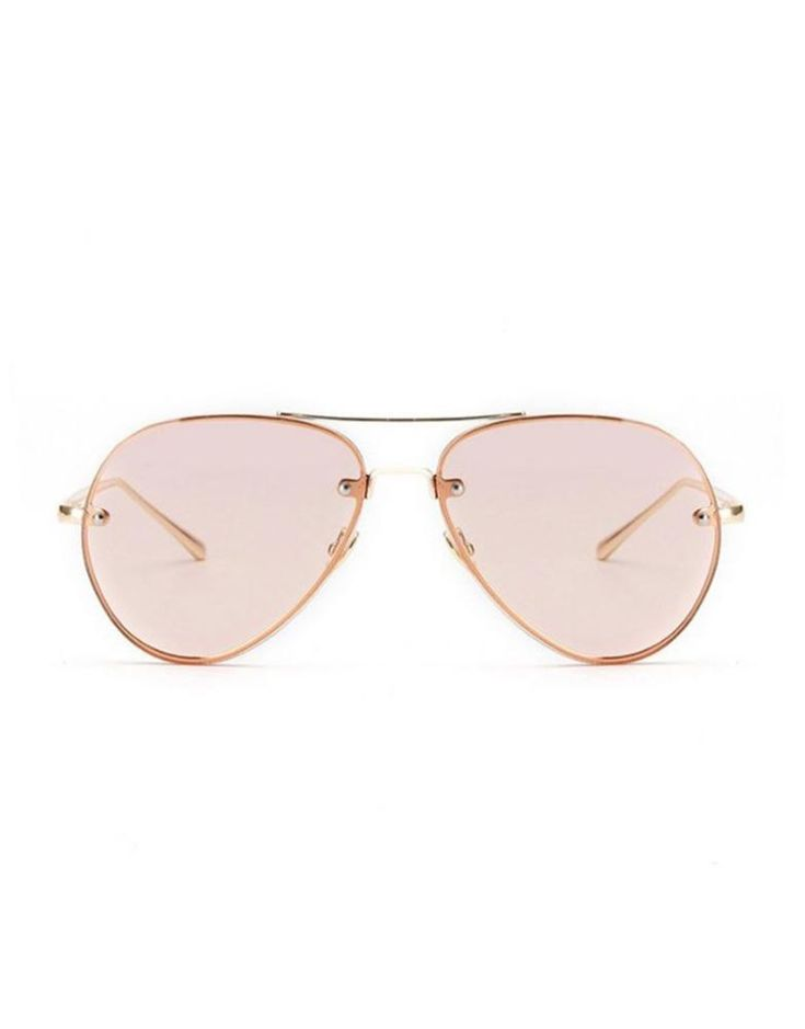 EIGHTY6 JET Aviator Rose Sunglasses
