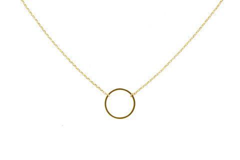 Open Circle Pendant