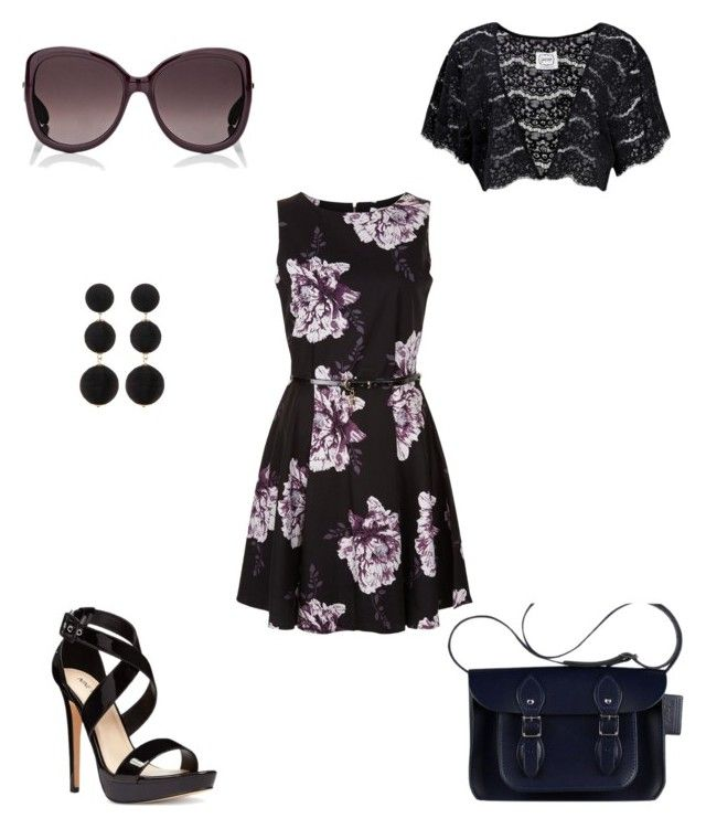 """""""Summer date night"""" by esteadman-1 on Polyvore featuring Elodie, Nine West, Christian Dior and Cara Accessories"""