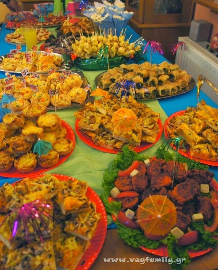 Μεγαλώνοντας μικρούς χορτοφάγους...: Ιδέες για παιδικό πάρτυ