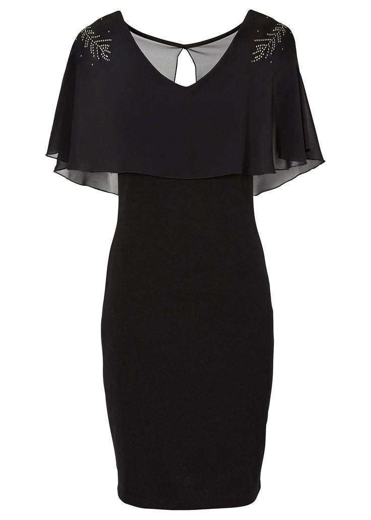 Vestido tubinho com aplicações preto encomendar agora na loja on-line bonprix.de  R$ 89,90 a partir de Este modelo de vestido é perfeito para uma festa ...