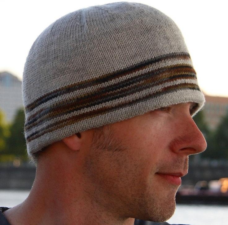 guys hat pattern in sock yarn Knit/Crochet/Sew Pinterest