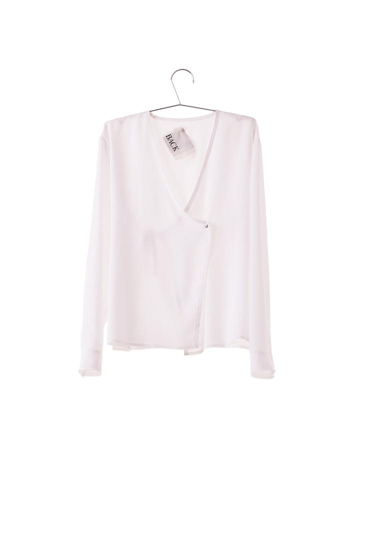 ANN-SOFIE BACK - sheer denim shirt