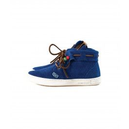 DOLFIE - peter baby - electric blue suede
