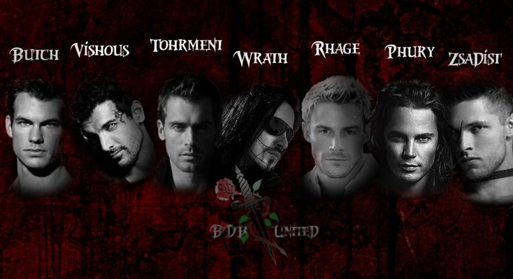 writers portraying the Book Series The Black Dagger Brotherhood ...