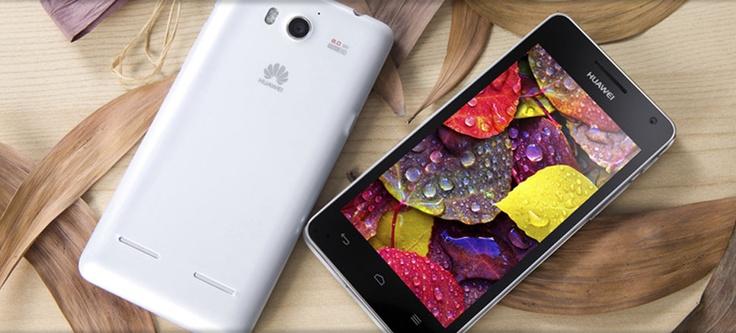 Huawei stellt Ascend G 615 vor