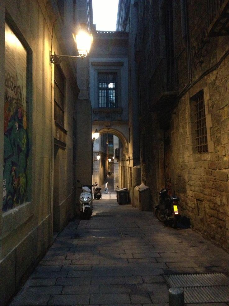 Barri Gòtic at night