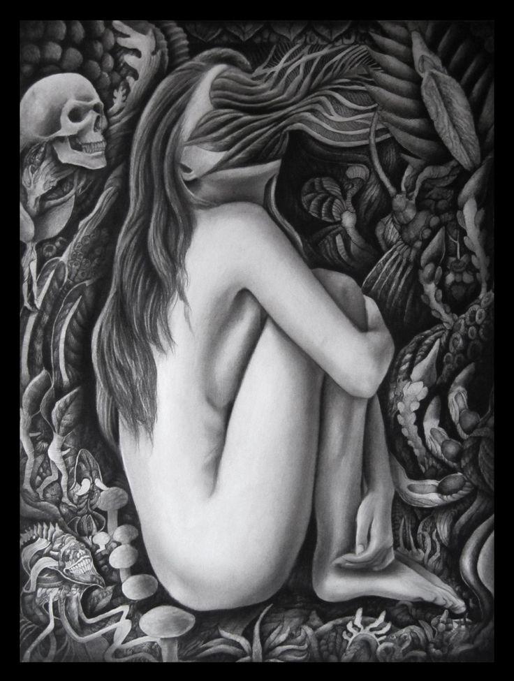 """Ariel Guerra """"S/T"""" Técnica mixta sobre papel. 65x50cm"""