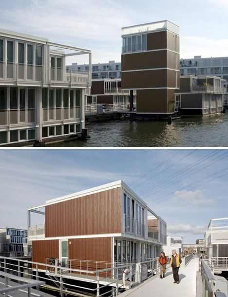 75 Prefab Floating Homes Form A Houseboat Town In Holland Design