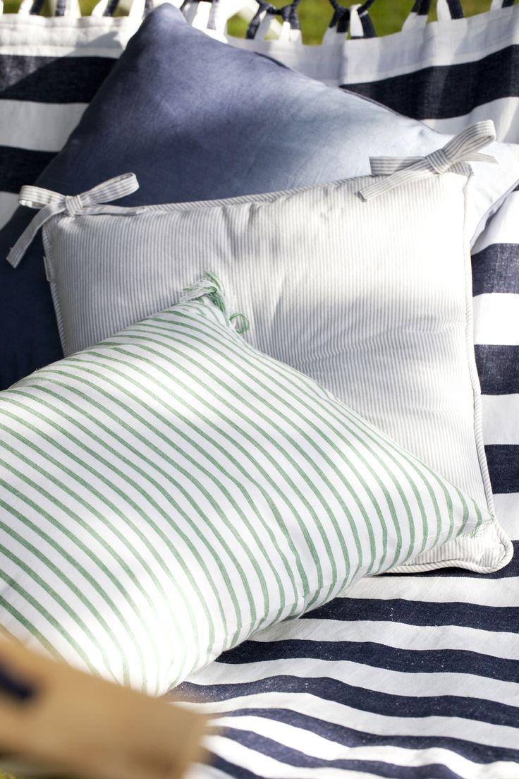 Affair Stripe And Aldina Cushions Lene Bjerre Spring