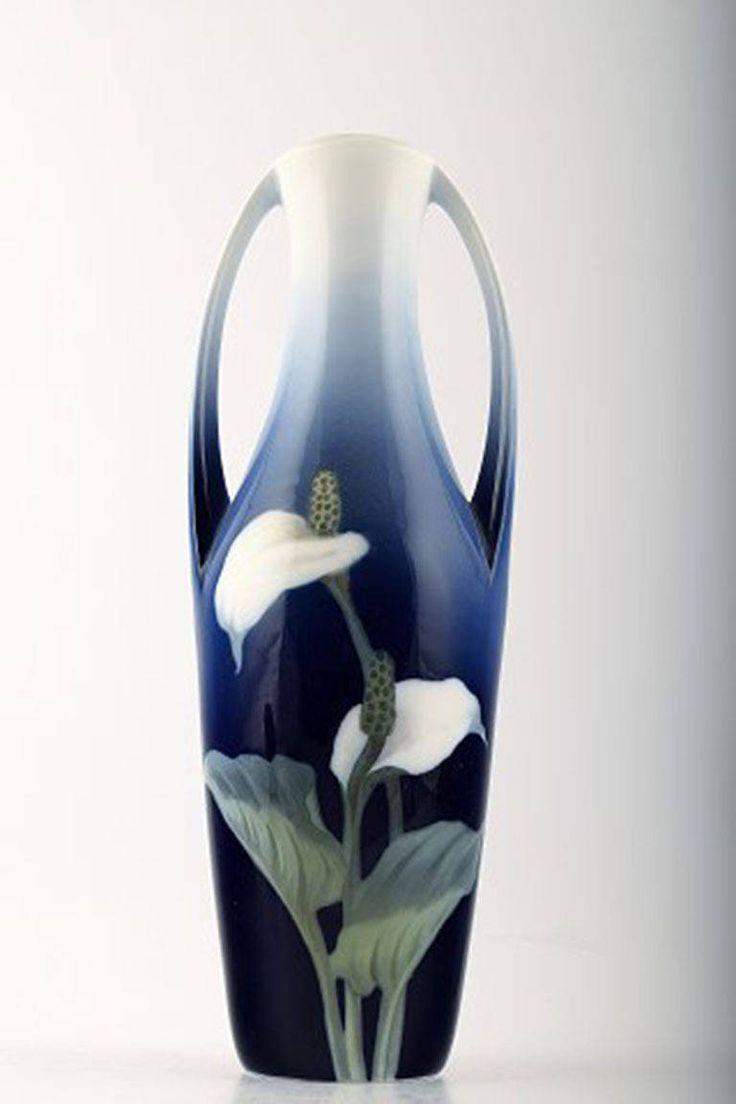 953 best porcelana royal copenhagen images on pinterest royal royal copenhagen art nouveau vase decorated with flowers reviewsmspy