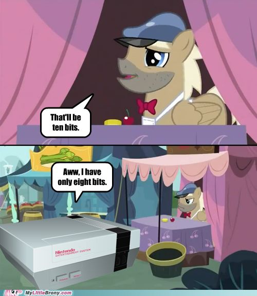 Yes, I Combined My Little Pony With Nerdy Gamer Humor