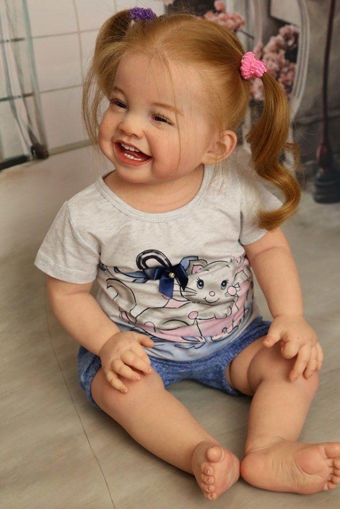 Cammi Reborn Vinyl Doll Kit By Ping Lau Toddler Dolls Real Life Baby Dolls Real Baby Dolls