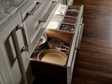 New America - eclectic - cabinet and drawer organizers - other metro - Quality Custom Cabinetry, Inc offered by Teakwood Builders Saratoga Springs NY