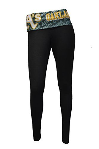 Oakland Athletics Womens Black Cameo Leggings  http://allstarsportsfan.com/product/oakland-athletics-womens-black-cameo-leggings/  Womens Cameo Black Leggings Stylish Team Spirited Waistband Featuring Team Logo and Team Name Slim-Fitting, Able to be Worn Anywhere