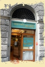 """Trattoria le """"Mossacce"""", Florence, Italy - crammed """"cheek to jowl"""" with locals, we enjoyed traditional Florentine food.  Steel yourself for this must-visit trattoria.  It is a whirlwind of activity inside."""