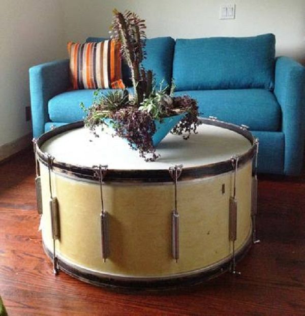 Drum Coffee Table Silver Drum Coffee Table Fearsome On Ideas In