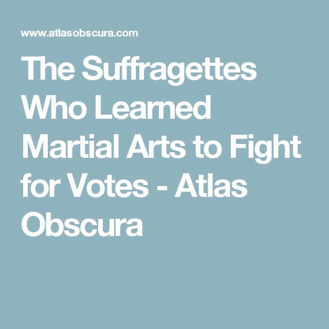 The Suffragettes Who Learned Martial Arts to Fight for Votes - Atlas Obscura