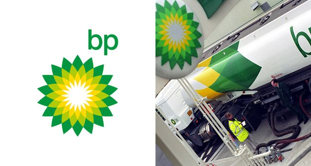 How Much Did These Famous Logo Designs Cost?    British Petrol (#BP) logo price tag: $211,000,000    The BP logo was redesigned in 2008.