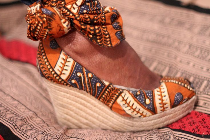 Batik shoes.