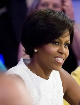 Terrific 1000 Images About Michelle Obama Hairstyles On Pinterest Short Hairstyles Gunalazisus