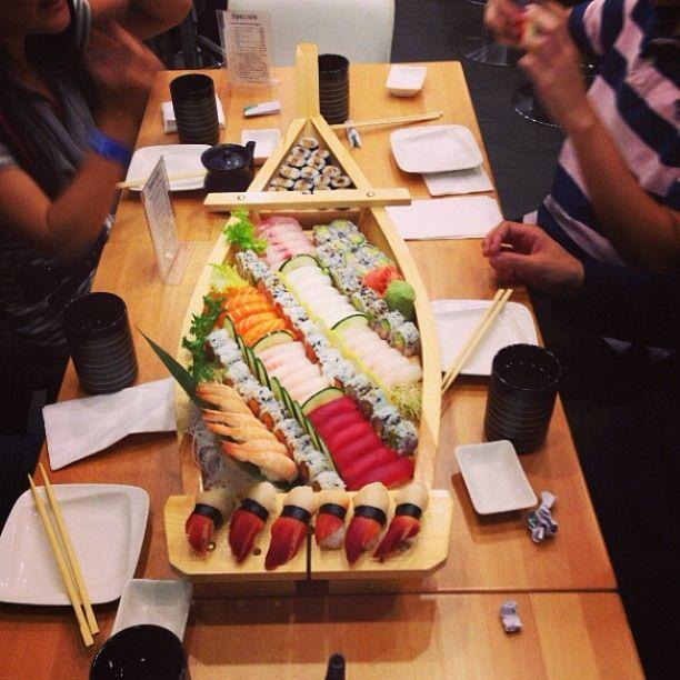 Sushi boat!?