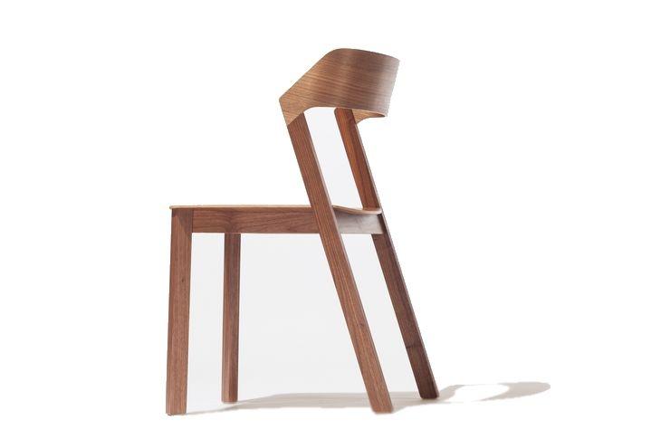 Merano - jídelní židle tmavě hnědé moření